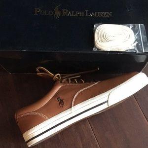 Polo Ralph Lauren Soft Leather Sneaker